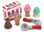 CHILDRENS CHILD MELISSA AND DOUG SCOOP AND STACK ICE CREAM SET PLAY FOOD
